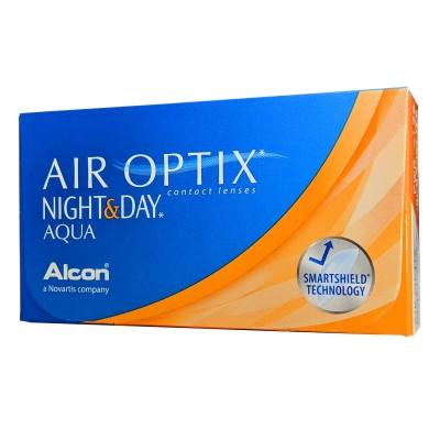 AIR OPTIX AQUA NIGHT & DAY ΜΗΝΙΑΙΟΙ ΦΑΚΟΙ ΕΠΑΦΗΣ ΣΙΛΙΚΟΝΗΣ ΥΔΡΟΓΕΛΗΣ (6 ΦΑΚΟΙ)