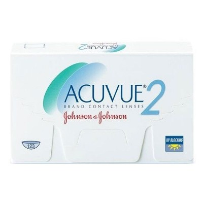 ACUVUE 2 ΔΕΚΑΠΕΝΘΗΜΕΡΟΙ ΦΑΚΟΙ ΕΠΑΦΗΣ (6 ΦΑΚΟΙ)