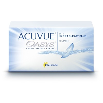 ACUVUE OASYS ΔΕΚΑΠΕΝΘΗΜΕΡΟΙ ΦΑΚΟΙ ΕΠΑΦΗΣ (12 ΦΑΚΟΙ)