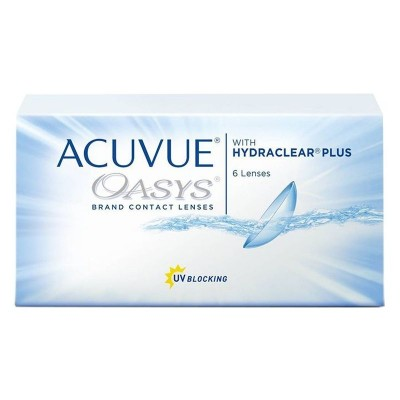 ACUVUE OASYS ΔΕΚΑΠΕΝΘΗΜΕΡΟΙ ΦΑΚΟΙ ΕΠΑΦΗΣ (6 ΦΑΚΟΙ)