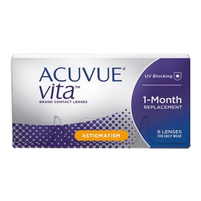 d960095354 ACUVUE VITA FOR ASTIGMATISM MONTHLY DISPOSABLE CONTACT LENSES FOR  ASTIGMATISM (6 LENSES)